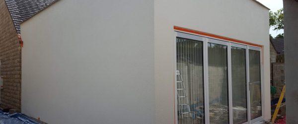 silicone render job northowram calderdale halifax