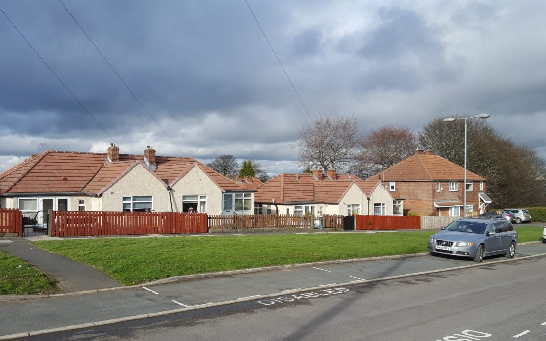 Recently Pebbledashed 8 bungalows in Brighouse