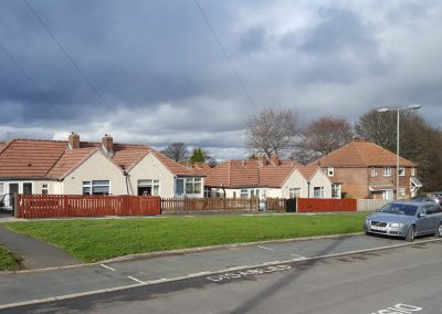 pebbledashed bungalows brighouse